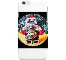 Fisheye robot iPhone Case/Skin