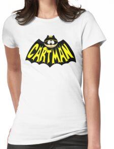Cartman 1960's Logo Mashup Womens Fitted T-Shirt