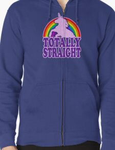 Funny - Totally Straight (vintage distressed look) T-Shirt