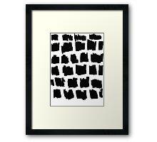 fragments Framed Print
