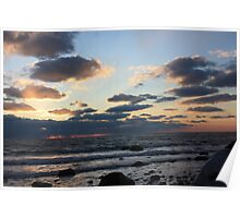 Philbin Beach Sunset 2 Poster