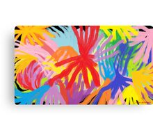 """Come On, Let Your Colors Burst!"" Canvas Print"