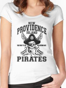 New Providence Island Pirates Women's Fitted Scoop T-Shirt