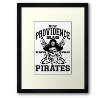 New Providence Island Pirates Framed Print