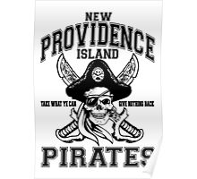 New Providence Island Pirates Poster