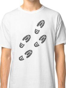 Shoe prints Classic T-Shirt