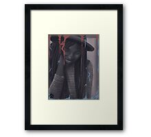 What are you drawing Ryan 168 Framed Print