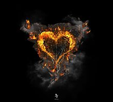 Fiery Heart by DVerissimo