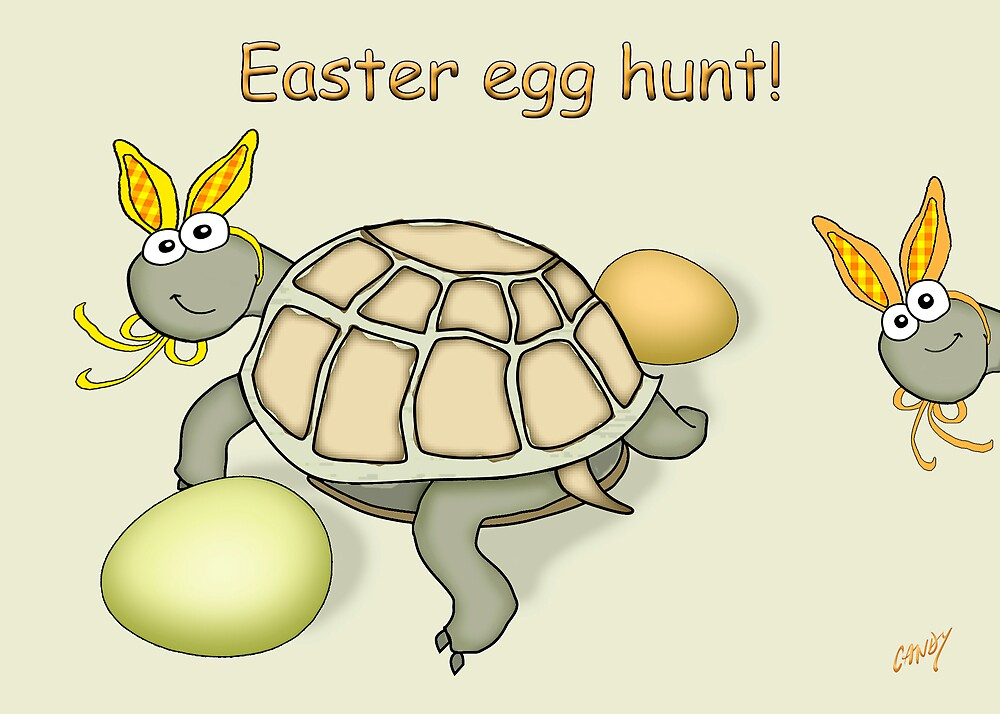 Easter Egg Hunt.  by graphicdoodles