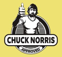 Chuck Norris Approved Kids Clothes