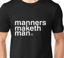 Kingsman: Manners Maketh Man Unisex T-Shirt