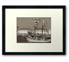 Tall Ships Framed Print