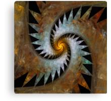 'Origami Spiral Universe' Canvas Print