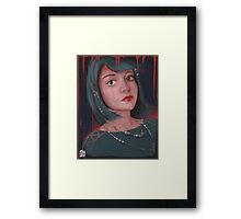 What are you drawing Ryan 173 Framed Print