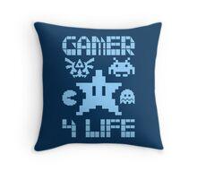 Gamer 4 Life Throw Pillow