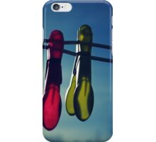 The two pegs iPhone Case/Skin