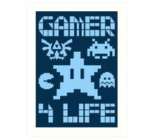 Gamer 4 Life Art Print
