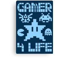 Gamer 4 Life Canvas Print