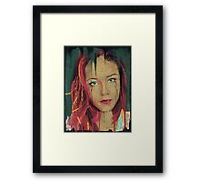 What are you drawing Ryan 176 Framed Print