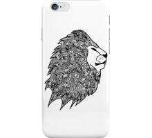 Zentangled Mane of Lion iPhone Case/Skin