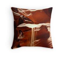 Antelope Slot Canyon Throw Pillow