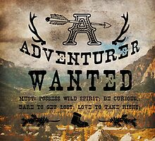 Adventurer Wanted by DVerissimo