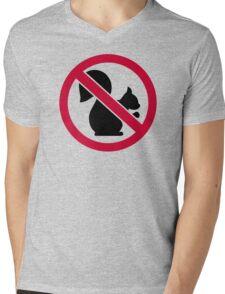 No squirrel Mens V-Neck T-Shirt