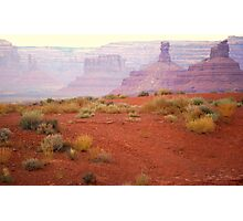 Outside Mexican Hat Photographic Print
