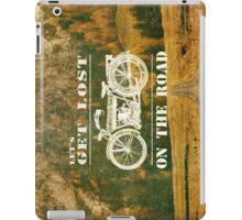 Let's Get Lost On The Road iPad Case/Skin