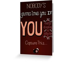 Sleeping With Sirens - Roger Rabbit Greeting Card