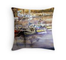 """Awaiting the Tide"" Throw Pillow"