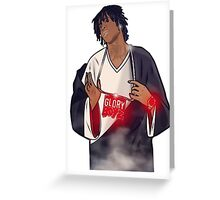 glory boyz ent chief keef Greeting Card