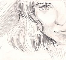 PRETTY FACE GIRL(C2002) by Paul Romanowski