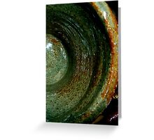 ceramic closeup Greeting Card