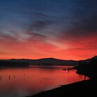 Sunrise Over the Columbia by Randy Richards
