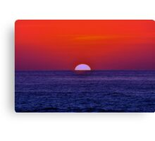 Mexican Sunset Canvas Print
