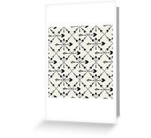 Arrows ethnic Greeting Card