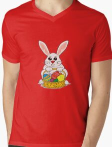 Easter Rabbit Mens V-Neck T-Shirt