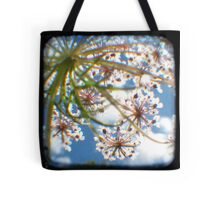 Look Up Through The Viewfinder Tote Bag