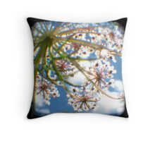 Look Up Through The Viewfinder Throw Pillow
