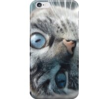Blue-Eyed Beauty iPhone Case/Skin