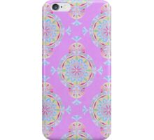 Vintage Moroccan Pattern in Lavender iPhone Case/Skin