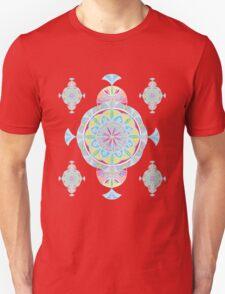 Vintage Moroccan Pattern in Lavender Unisex T-Shirt