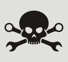 Skull 'n' Tools - Screw Pirate 1 (black) by GET-THE-CAR