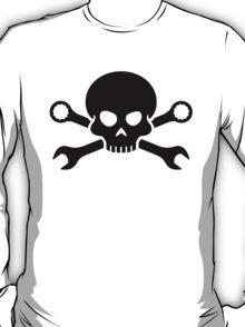 Skull 'n' Tools - Screw Pirate 1 (black) T-Shirt