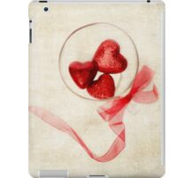 Valentine Heart and Ribbon iPad Case/Skin