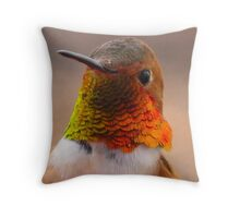 Rufus The Red Throw Pillow
