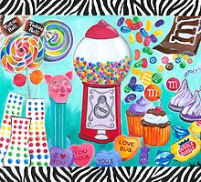 Candy Window by Carla Bank