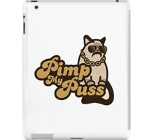 Pimp my puss iPad Case/Skin