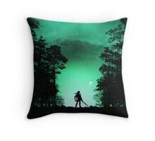 Kokiri Forest Throw Pillow